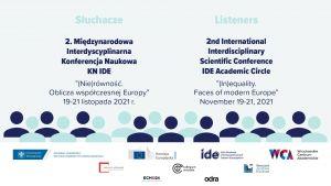 2. MIKN (Nie)równość. Oblicza współczesnej Europy.